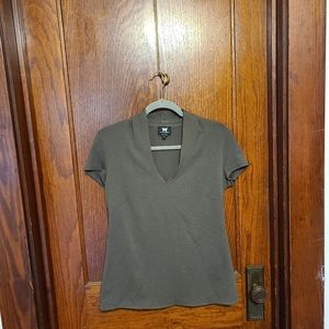 W by Worth Gray v-neck top